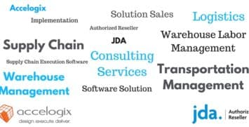 Accelogix is proud to be an authorized JDA software reseller.
