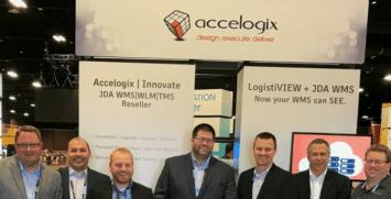 Accelogix management team at JDA FOCUS 2017 in Las Vegas