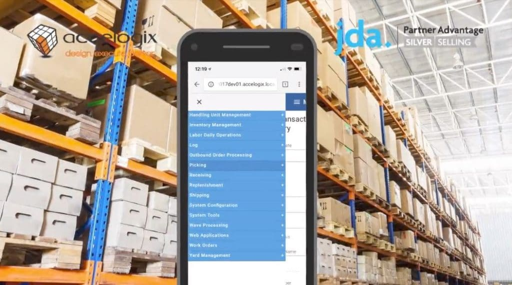JDA Warehouse Management Mobile Link